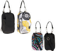 Set of 2 PursePlus Standard or XL Smartphone Bags w/ Strap