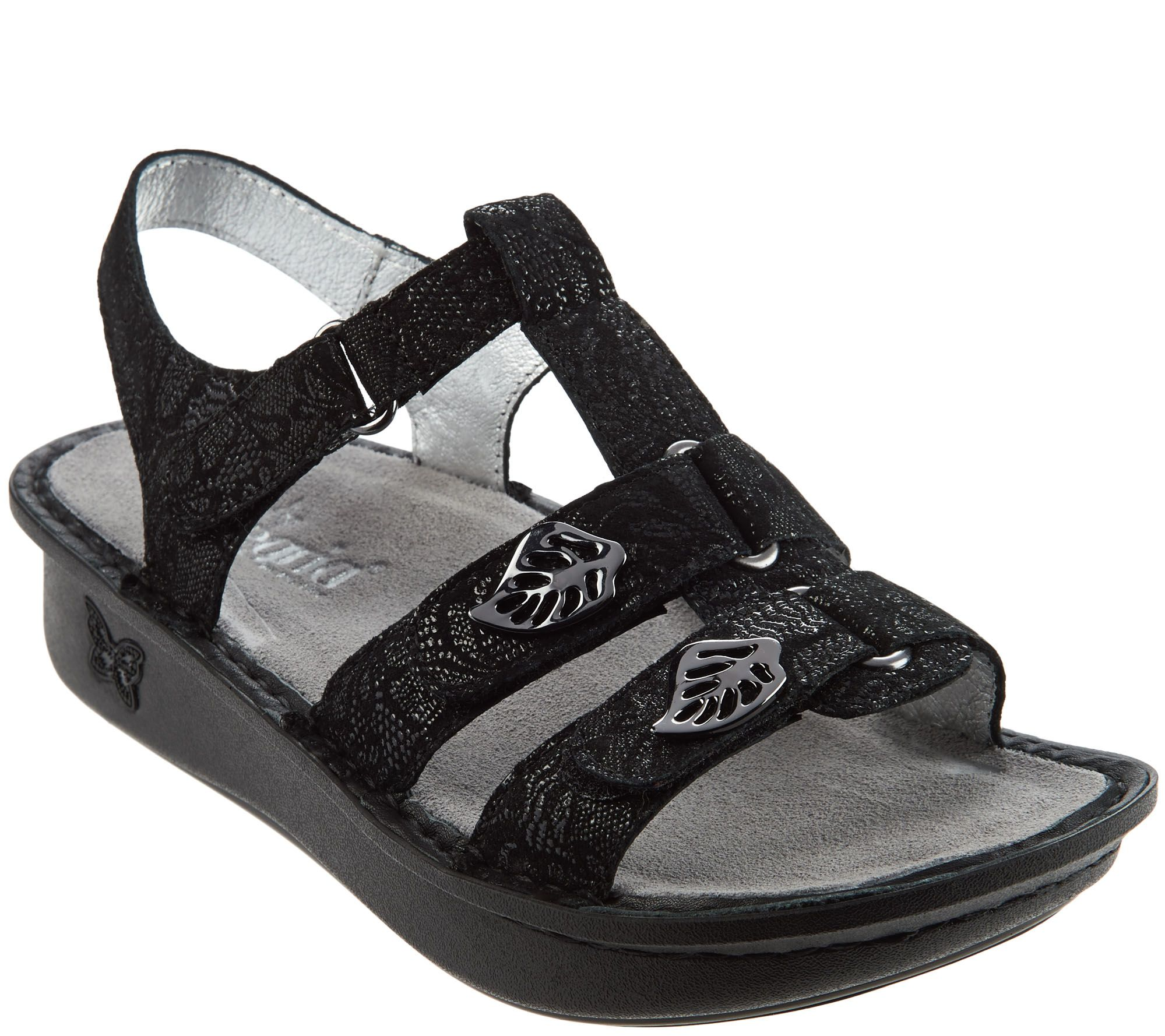 Alegria Leather Multi-Strap Sandals w/ Backstrap - Kleo - A274226