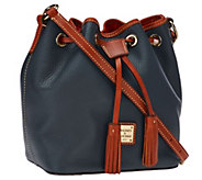 As Is Dooney & Bourke Kendall Pebbled Leather Mini Drawstring Bag - A275926