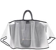 The Midi Water-Repellant Handbag Raincoat w/ Top Closure - A282826