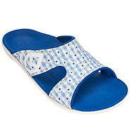 Spenco Orthotic Slide Sandals - Kholo Gingham - A283526