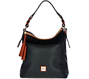 As Is Dooney & Bourke Pebble Leather Small Sloan Hobo - A290626