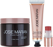 Josie Maran Whipped Argan Illuminize & Glow 3-piece Kit - A298726
