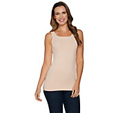 As Is Spanx Seamless Long Line Tank - A306226