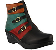 Spring Step LArtiste Leather Ankle Boots - Bohani - A355926