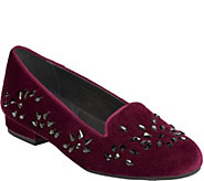 Aerosoles Velvet Smoking Slippers - Good Graces - A362026