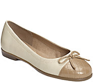 Aerosoles Leather Ballet Flats - Beckon - A184127