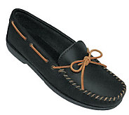 Minnetonka Mens Leather Camp XL Moccasins - A208727