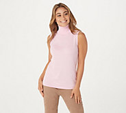 Joan Rivers Wardrobe Builders Easy Chic Turtleneck Tank - A228327