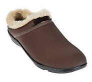 Aetrex Berries Clogs with Faux Fur Lining - A228527