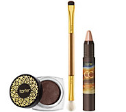 tarte Colored Clay CC Eye Primer & Gemstone Shadow w/Brush - A257227