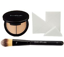 EVE PEARL HD Dual Foundation with Brush & Sponges