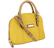 Tignanello Pebble Leather Convertible Dome Satchel - A263527