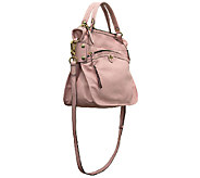 orYANY Italian Grain Leather Satchel - Norah - A263927