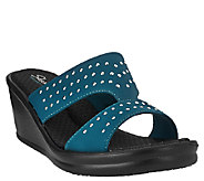 Skechers Rumblers Wedge Sandals w/ Memory Foam - Hope Floats - A265127