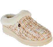 Skechers Bobs Boucle Faux Fur Slippers with Memory Foam - Cherish - A269827