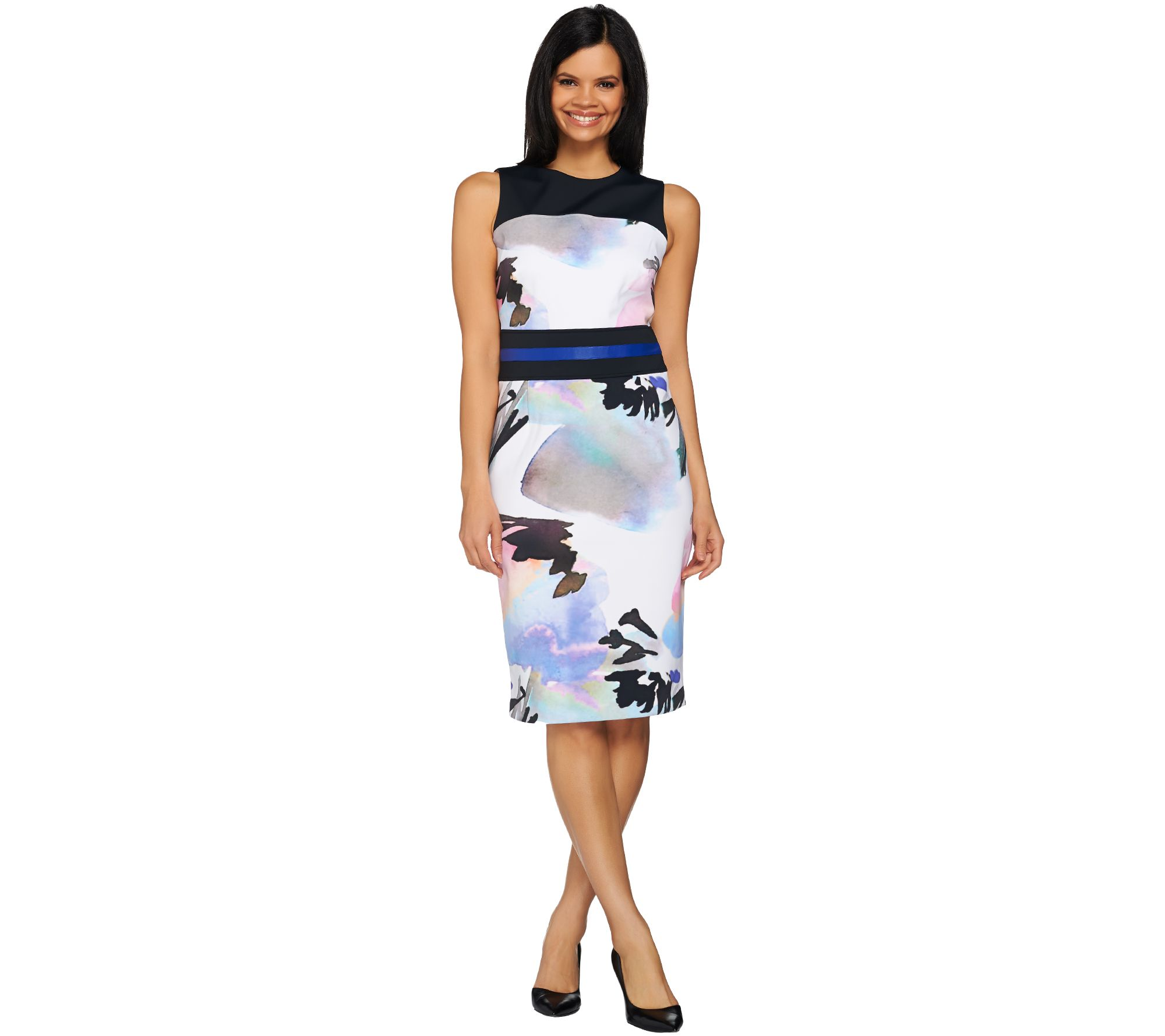 G.I.L.I. Printed Sheath Dress - A273627