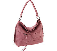 As Is Aimee Kestenberg Vintage Leather Hobo Bag - Camilla - A275927