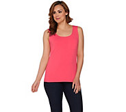 Susan Graver Weekend Cotton Modal Sleeveless Tank - A277827