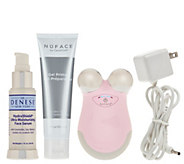 NuFace Mini Facial Toning Device w/ Dr. Denese Serum - A284127