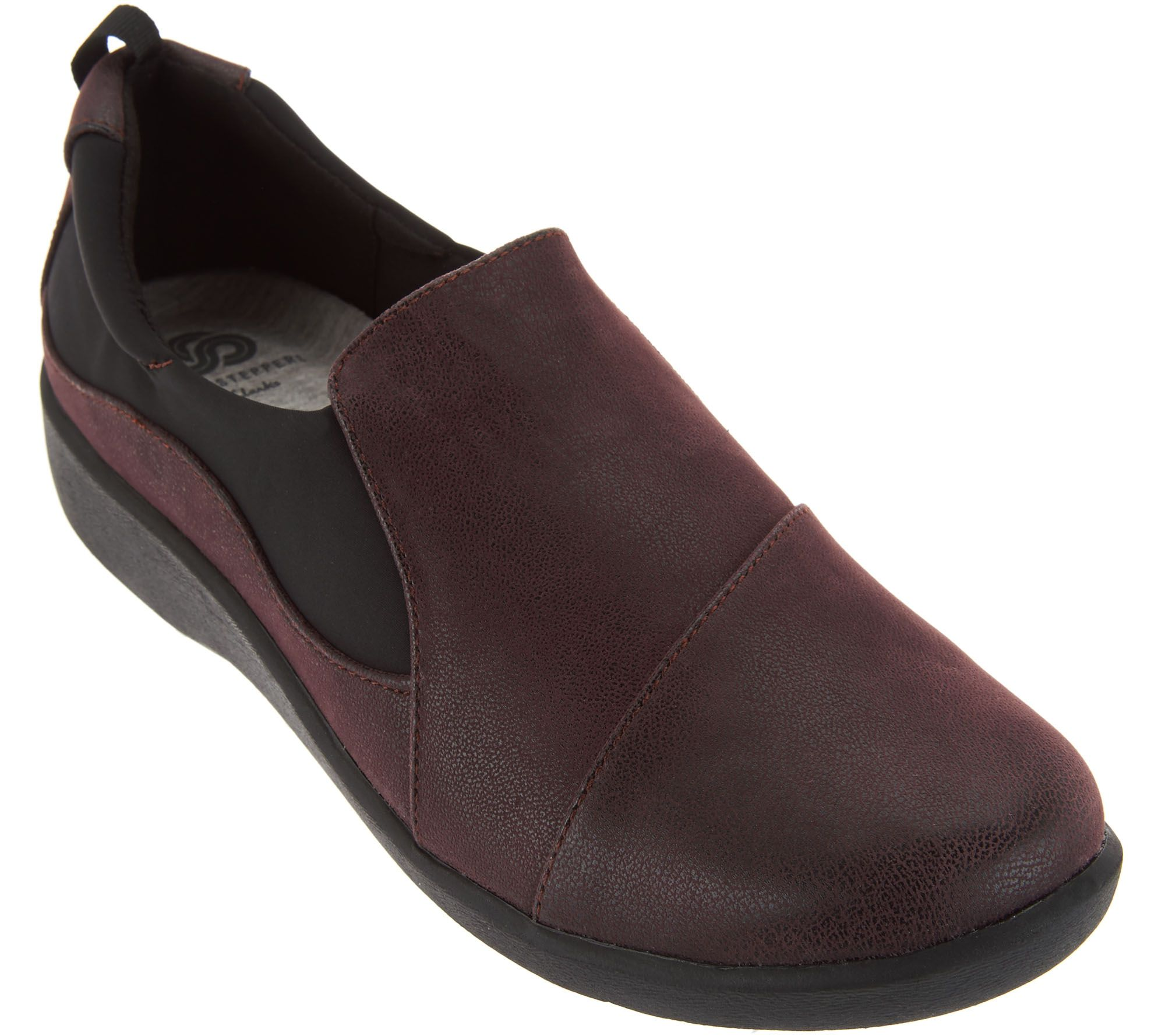 """""""As Is"""" Clarks Cloud Steppers Slip-on Shoes- Sillian Paz ..."""