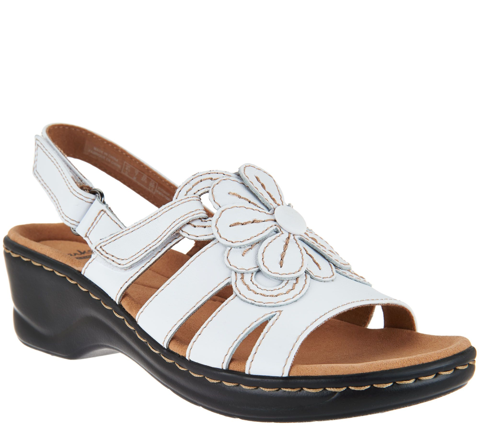 Clarks Leather Lightweight Sandals Lexi Venice Page 1