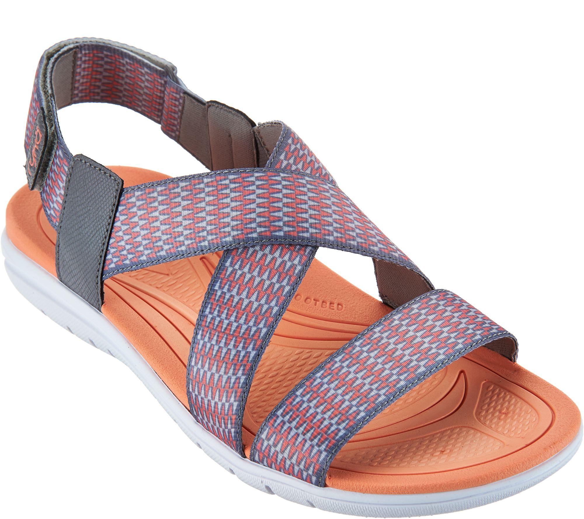 Ryka sandals shoes - Ryka Adjustable Sport Sandals With Css Tech Belmar A289127