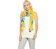 Denim & Co. Sail Boat Printed Scarf - A289727