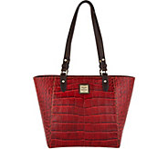 Dooney & Bourke Croco Embossed Leather Tote- Janie - A296327