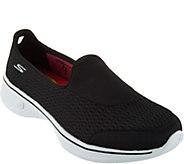 As Is Skechers GOwalk 4 Mesh Clip-ons - Pursuit - A297127