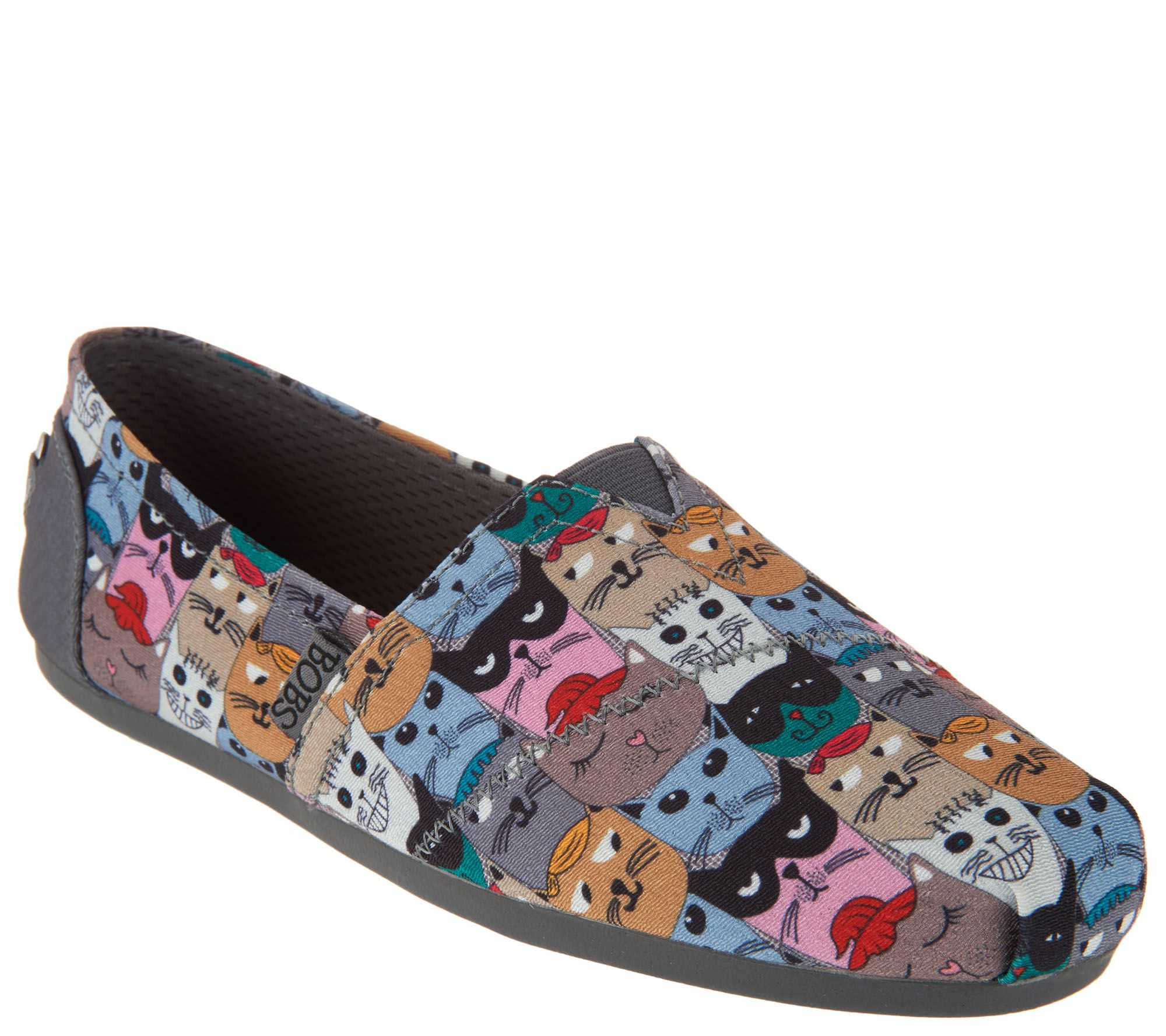 Skechers BOBS Choice of Dog or Cat Slip-On Shoes -Party - A302827