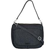 As Is Vera Bradley Denim Carson Shoulder Bag - A306827