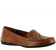 Bella Vita Quilted Vamp Leather Moccasins - Mercedes - A334027