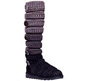 MUK LUKS Miranda Marled Texture Stripe Boot - A334627