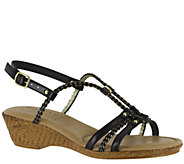 Tuscany by Easy Street Wedge Sandals - Lucca - A335527