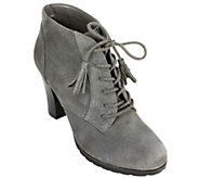 White Mountain Suede Leather Booties - Shauna - A338827