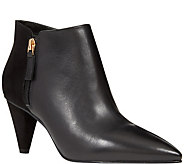 Nine West Leather Booties - Yames - A363127