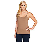 Liz Claiborne New York Essentials Scoop Neck Camisole - A231828