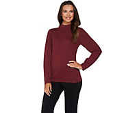 Joan Rivers Long Sleeve Mock Turtleneck Sweater - A235228