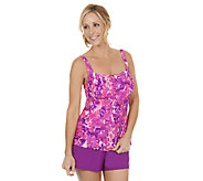 Ocean Dream Signature Step Right Up D/E Tankini Shorts - A252528