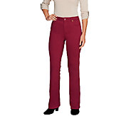 Isaac Mizrahi Live! Regular Icon Grace Boot Cut Jeans - A255928