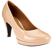 Clarks Patent Pumps - Brier Dolly - A256728