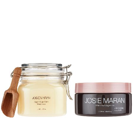 josie maran argan oil nourishing body butter sugar scrub page 1. Black Bedroom Furniture Sets. Home Design Ideas