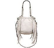 As Is orYANY Italian Leather Shoulder Bag - Malia - A272028