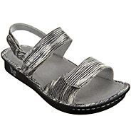 Alegria Leather Sandals with Adj. Straps - Verona - A274228
