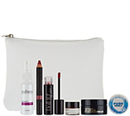 QVC Beauty Glam On-the-Go Volume I 6-pc Kit w/ Bag - A279828