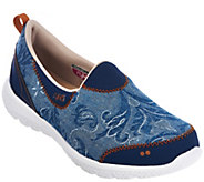 As Is Ryka Slip-On Printed Sneakers w/CSS Technology - Henley - A282228