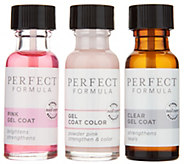Perfect Formula Nail Treatment & Color 3-Piece Kit - A298328