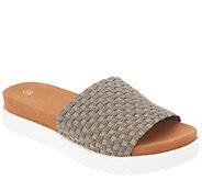 Bernie Mev Woven Slide Sandals - Capri - A304528