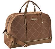 As Is Vera Bradley Preppy Poly Travel Bag - A306828